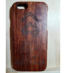 Natural Real 100% Bamboo Wooden Australia Back case Cover for Apple Iphone 5c