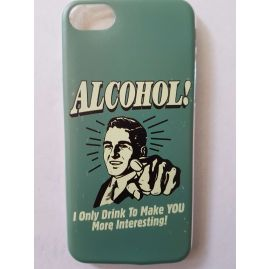 Funny Alcohol Statement Case for iPhone 7 Plus